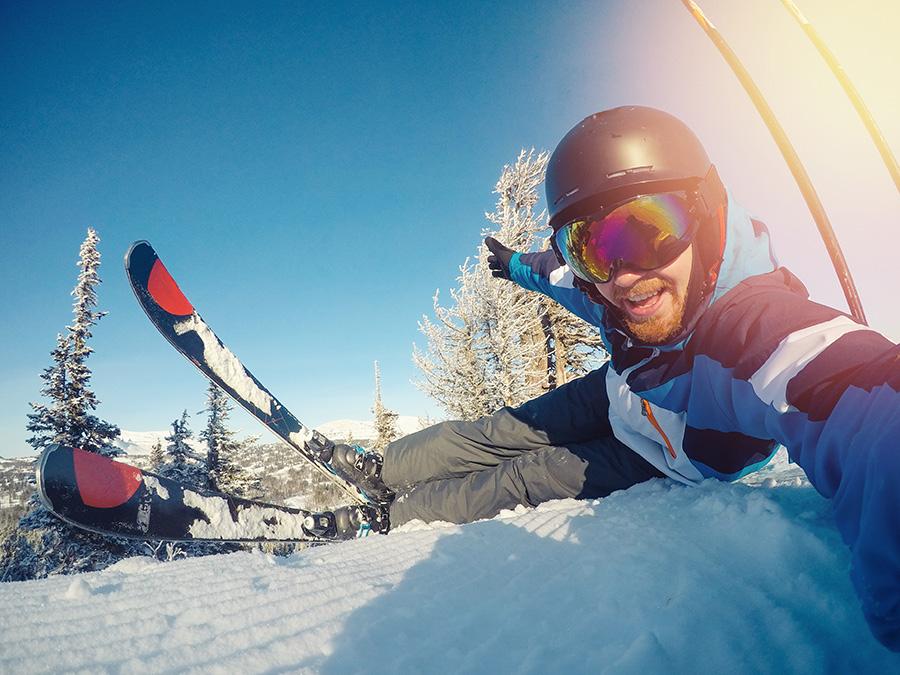 filmer avec gopro au ski