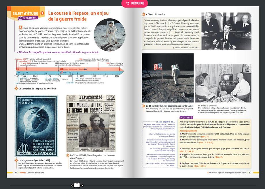 livre scolaire numérique histoire