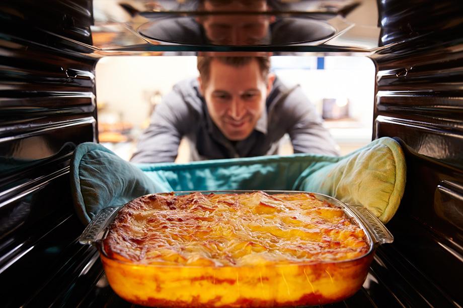 cuisson lasagne au four