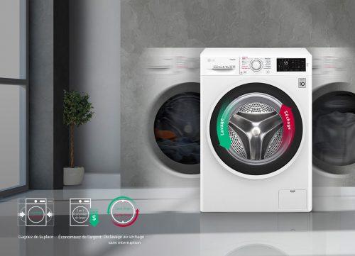 machine à laver qui sèche