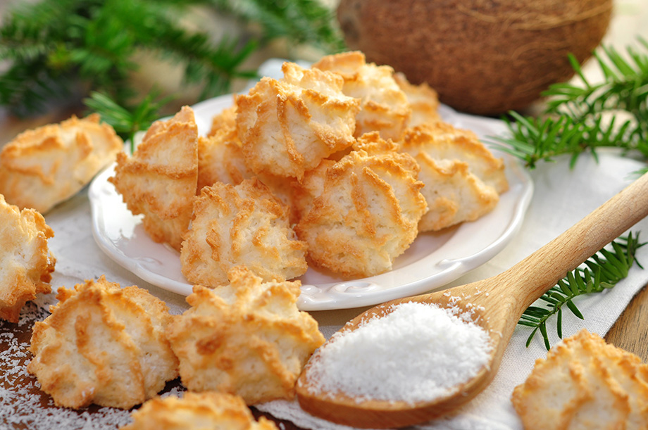 recette facile macarons coco