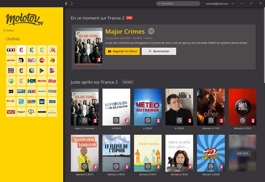 application smart tv pour regarder tnt en direct