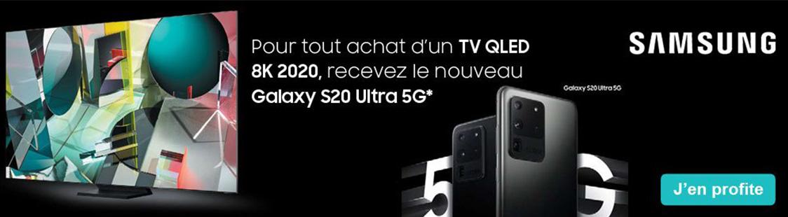 promotion smartphone offert pour achat tv samsung 2020