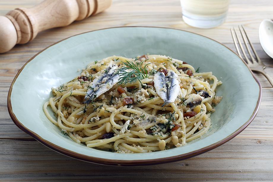 spaghettis aux sardine recette facile