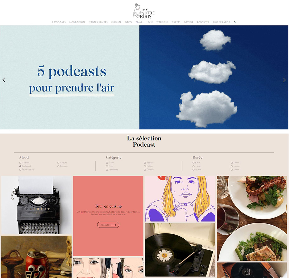 my little paris podcast foodcast