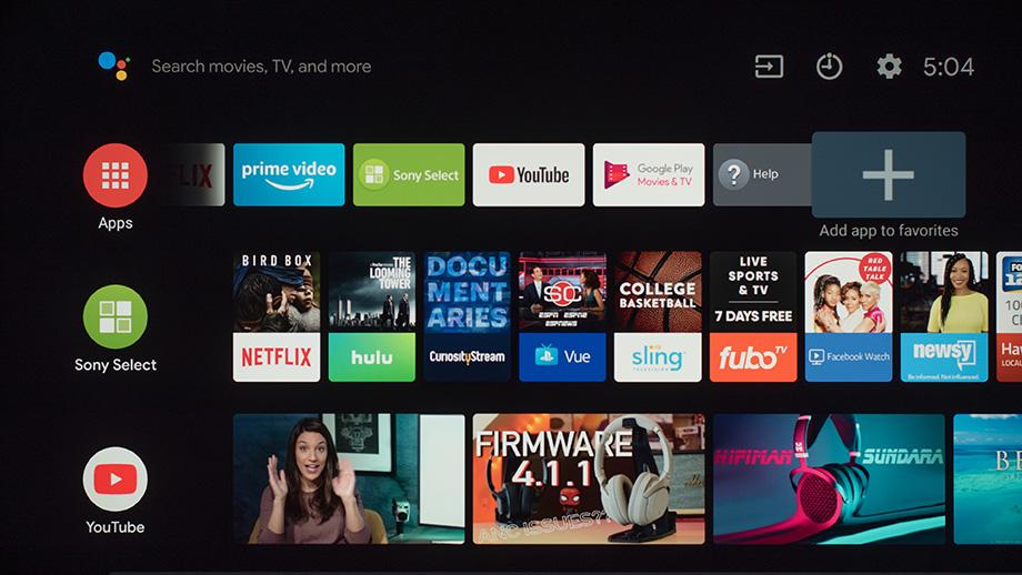 televiseur connecté android tv