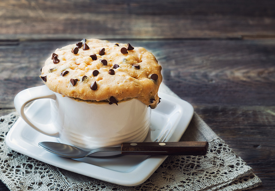 recette mug cake facile microondes