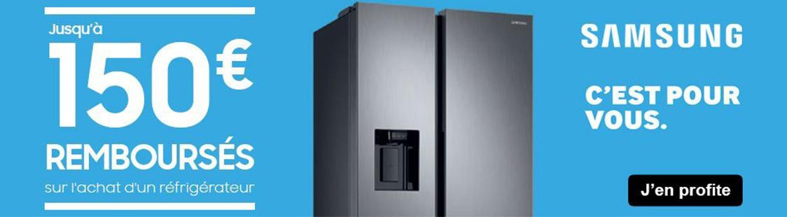 promoton refrigerateur samsung avril 2020