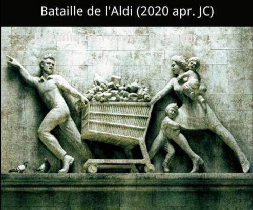 meme la bataille de l'aldi