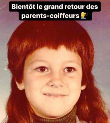 retour des parents coiffeurs meme