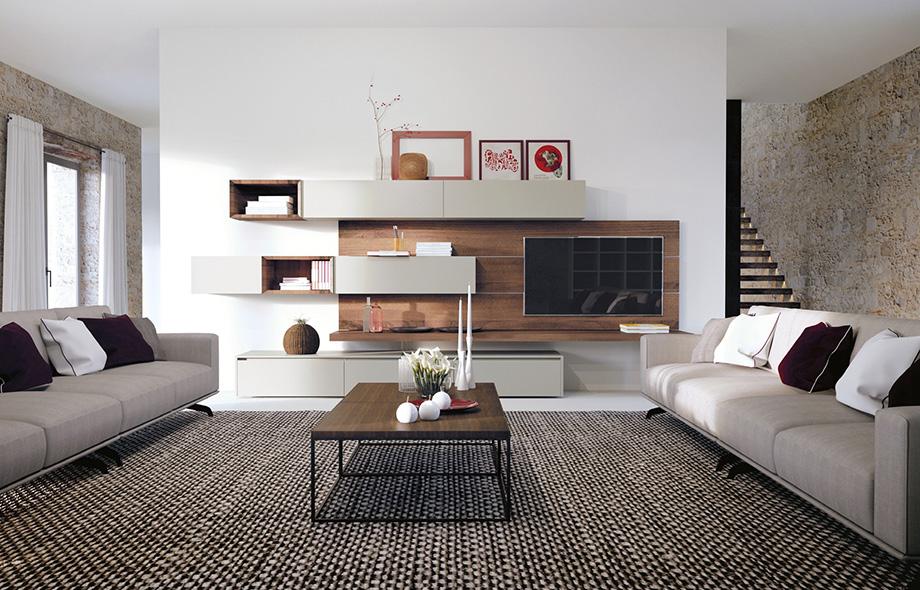 salon la casa moderna