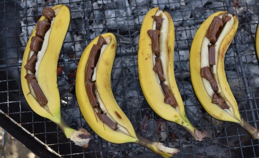 Recette bananes au chocolat