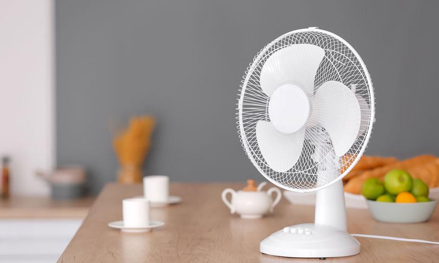 Exemple de ventilateur de table