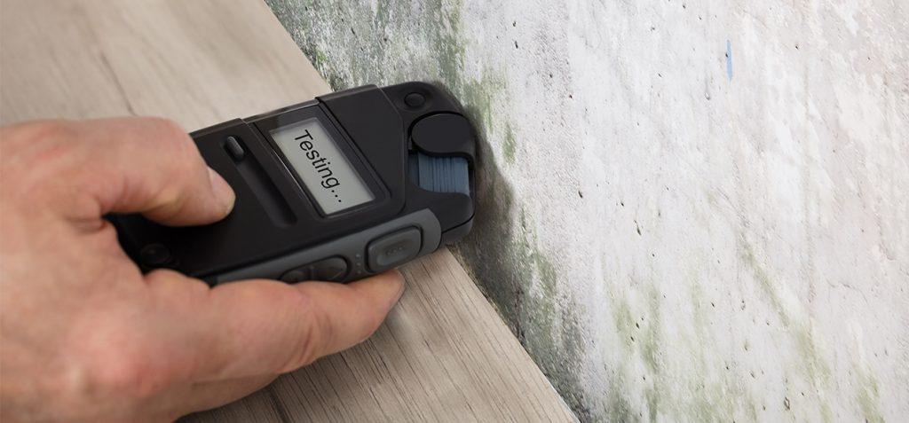 Tester l'humidité dans votre maison