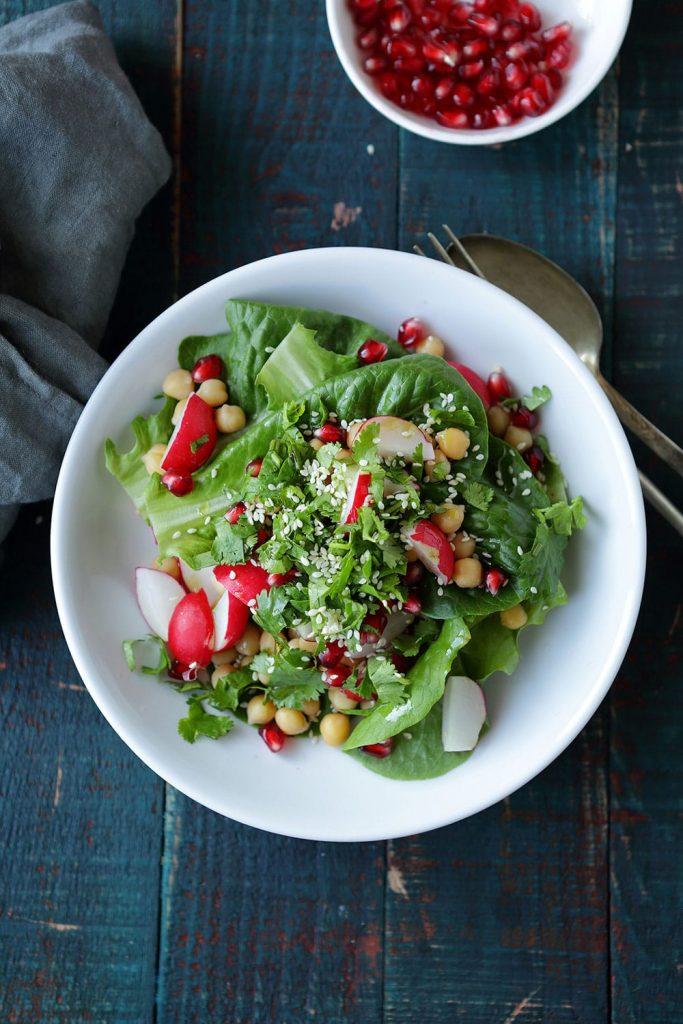 salade-pois-chiches-et-raisins-secs